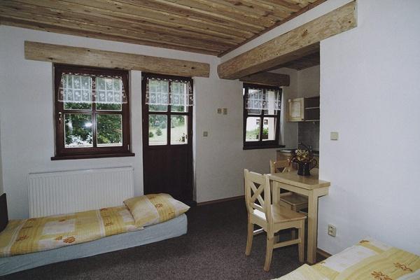 Ubytování na Šumavě - Penzion v Kubově Huti na Šumavě - pokoj